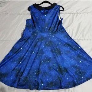 Hot Topic Dresses - DOCTOR WHO TARDIS SKATER DRESS